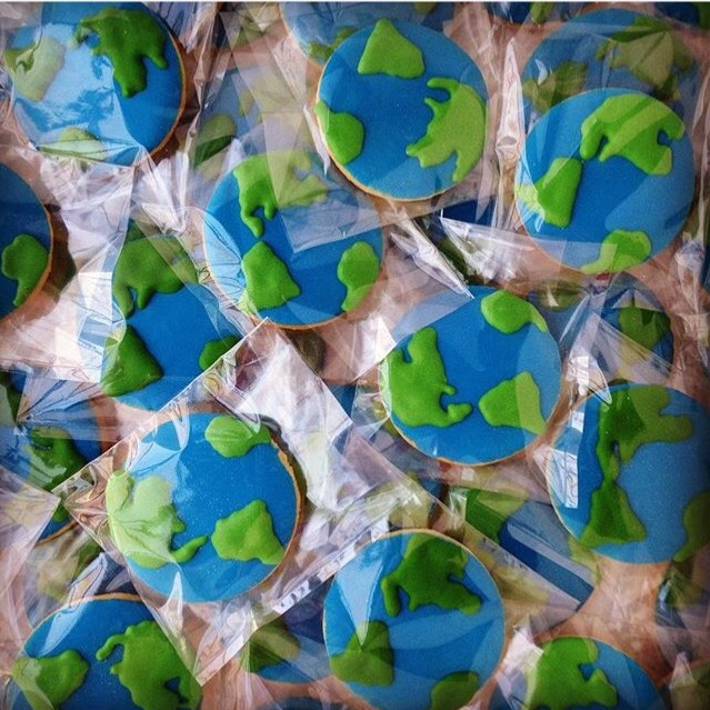 Earth cookies